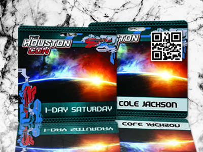 One Day Pass to HoustonCon for Cole Jackson - Saturday Only with QR Code