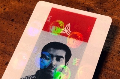 ID Badge Printing with Security Features
