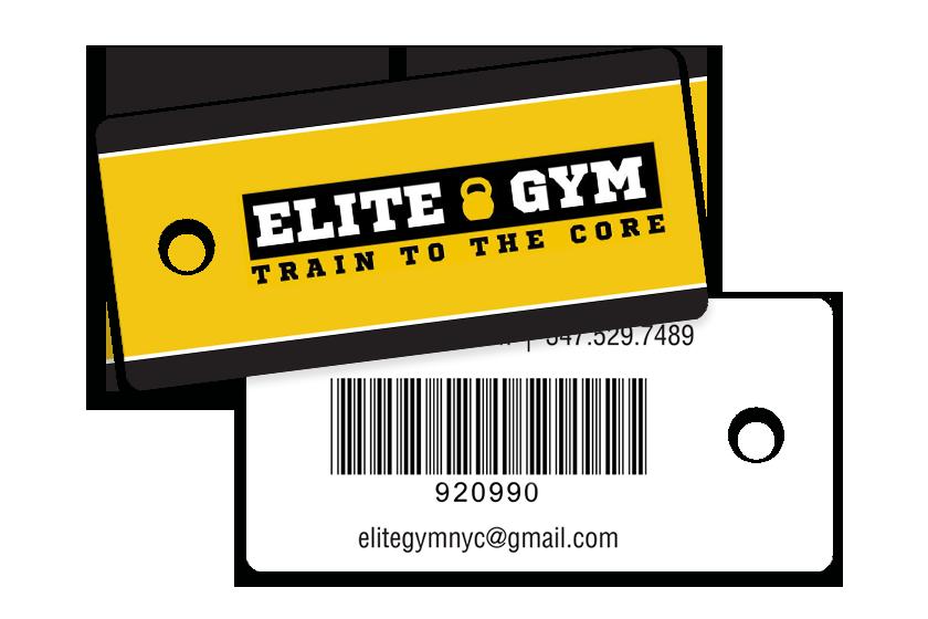 Gym Membership Key Tag