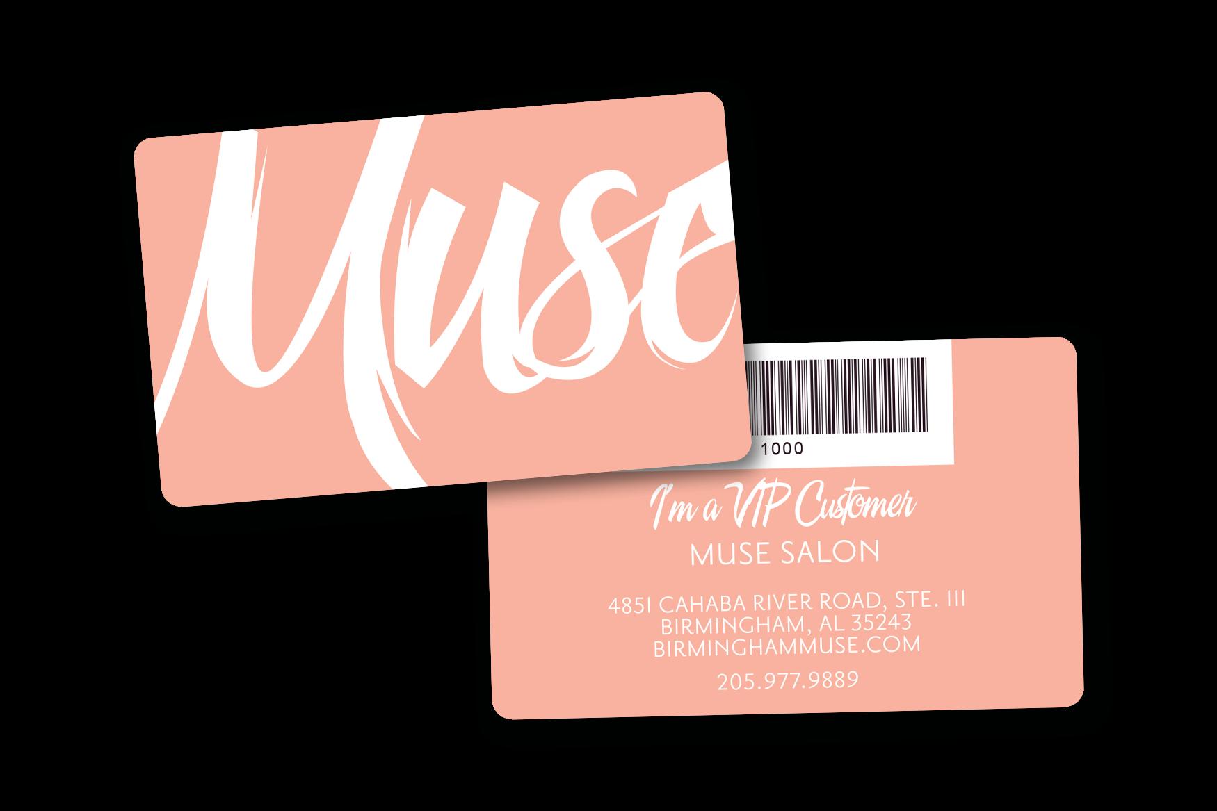 Salon VIP Cards