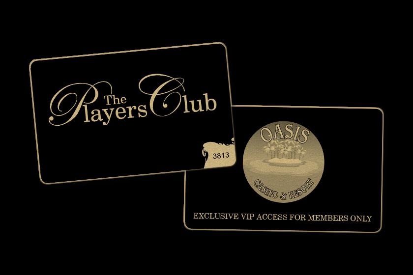 custom plastic vip cards for a casino VIP program