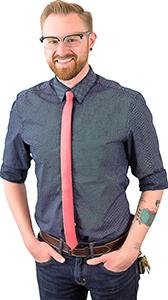 Tom Weiner talented Graphic Designer at Plastic Printers