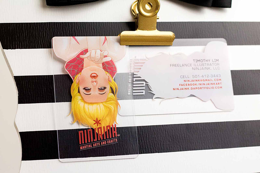 Plastic business cards need we say more colourmoves