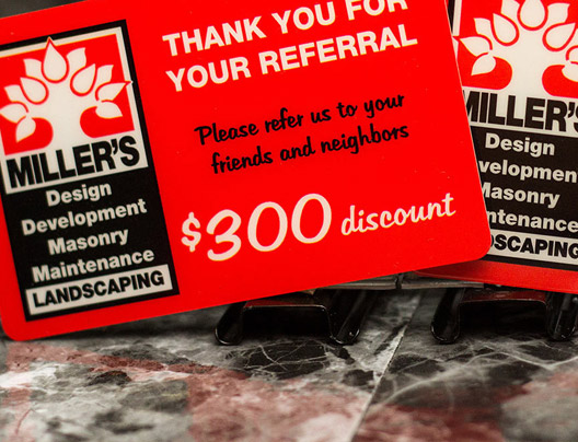 Link to request samples of loyalty cards
