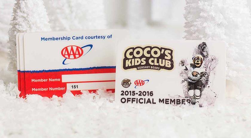 Example of Custom Membership Card from AAA