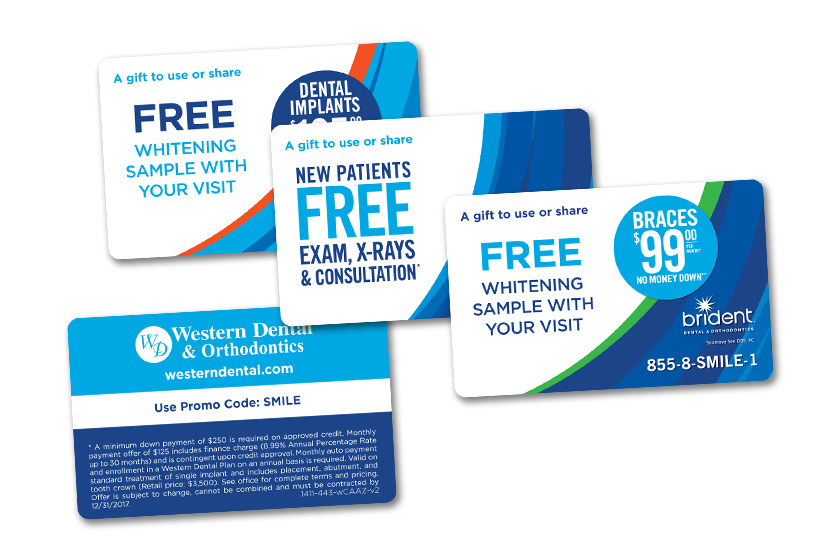 Discount Card Printing for your Dental Office