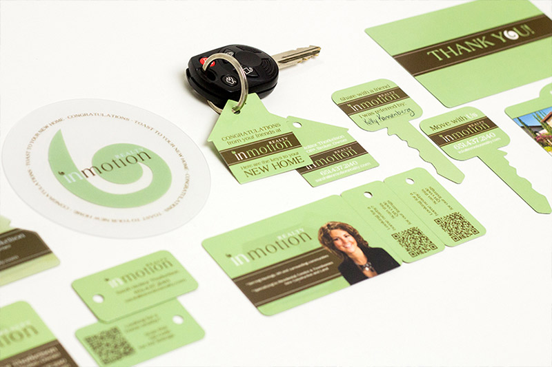 Example of corporate marketing materials