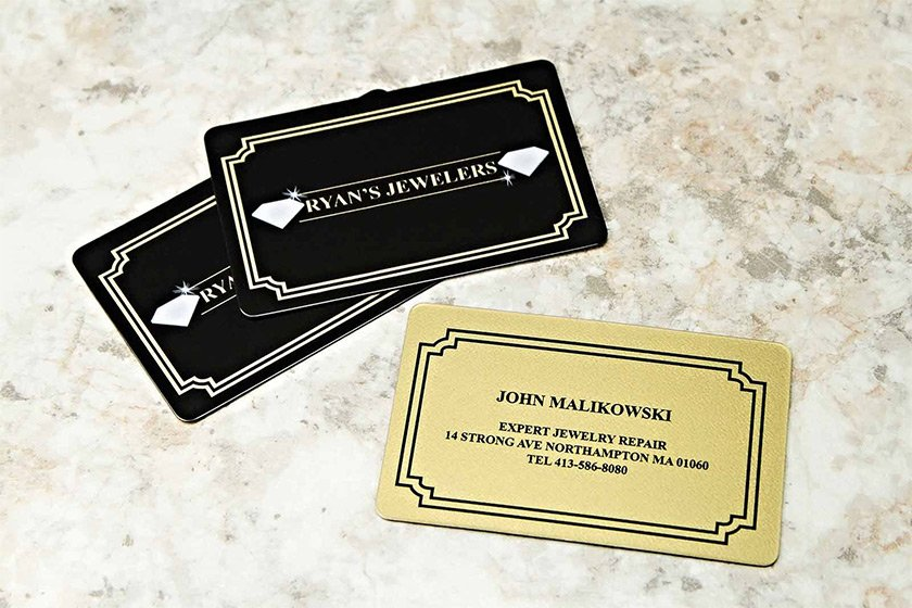 Metallic or Metal Business Cards: Which Should You Choose?