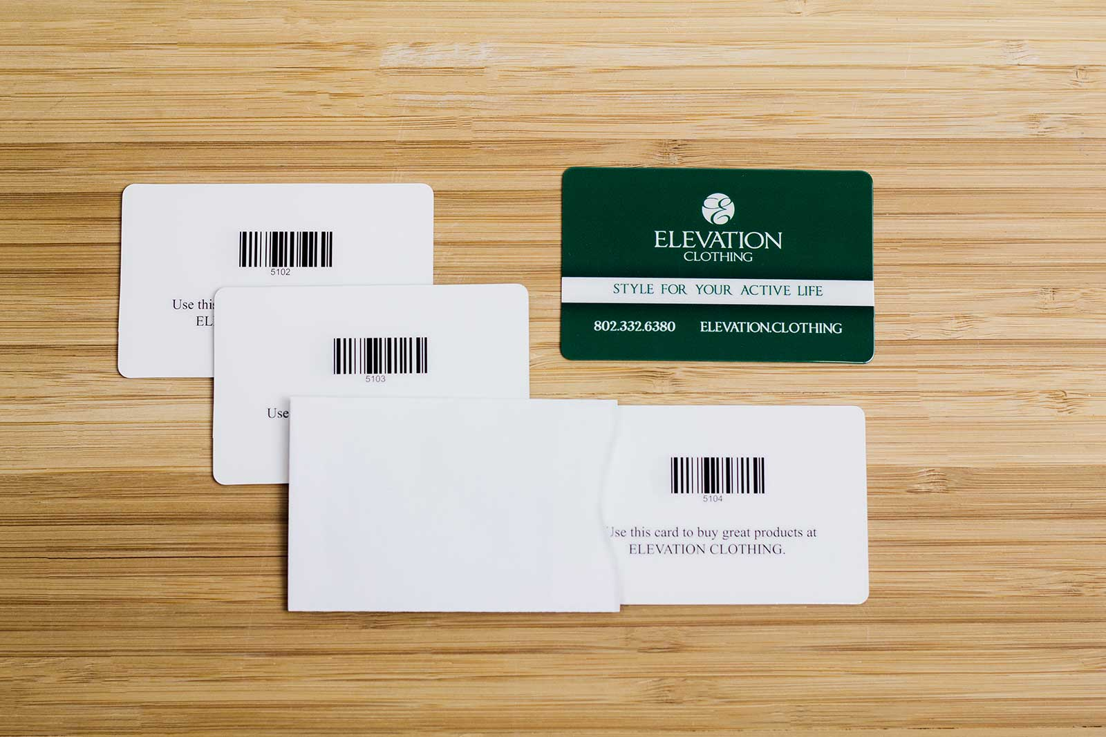 Free Gift Card Program Consultation from Plastic Printers, Inc.