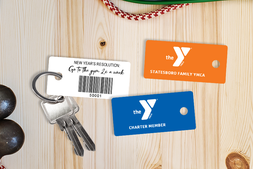 Membership Key Tags for Fitness Centers