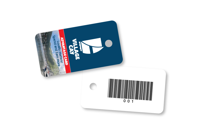 Plastic key tags to boost customer loyalty