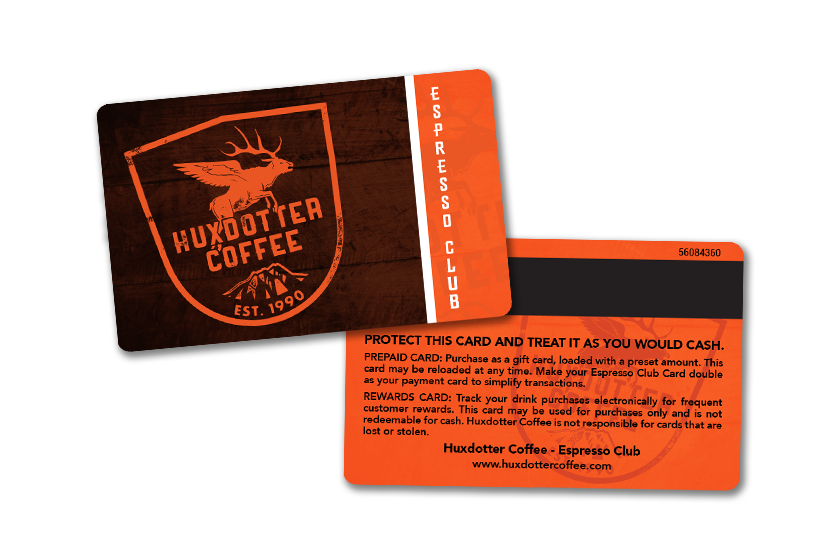 Membership Card Printing for your Coffee Club